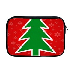 Christmas Tree Apple Macbook Pro 17  Zipper Case