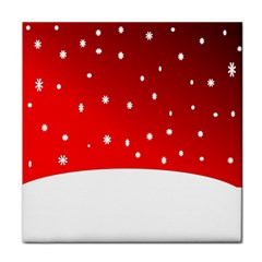 Christmas Background  Tile Coasters