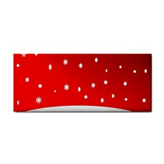 Christmas Background  Cosmetic Storage Cases