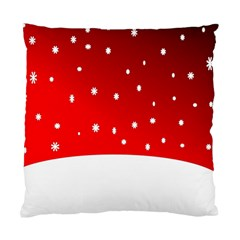 Christmas Background  Standard Cushion Case (One Side)