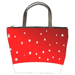 Christmas Background  Bucket Bags