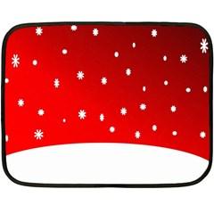 Christmas Background  Double Sided Fleece Blanket (Mini)