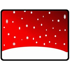 Christmas Background  Fleece Blanket (Large)