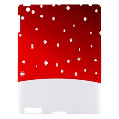 Christmas Background  Apple iPad 3/4 Hardshell Case