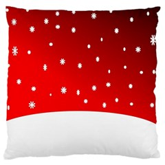 Christmas Background  Standard Flano Cushion Case (Two Sides)