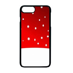 Christmas Background  Apple Iphone 7 Plus Seamless Case (black)