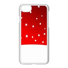 Christmas Background  Apple Iphone 7 Seamless Case (white)