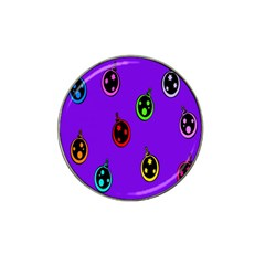 Christmas Baubles Hat Clip Ball Marker