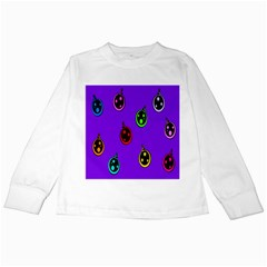 Christmas Baubles Kids Long Sleeve T-Shirts