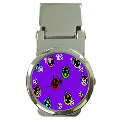 Christmas Baubles Money Clip Watches