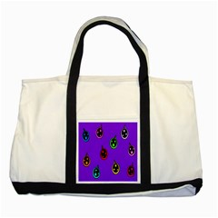 Christmas Baubles Two Tone Tote Bag
