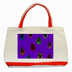 Christmas Baubles Classic Tote Bag (Red)