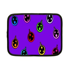 Christmas Baubles Netbook Case (Small)