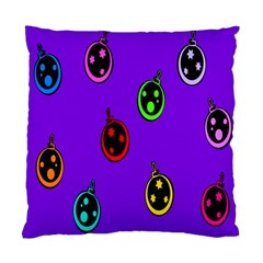 Christmas Baubles Standard Cushion Case (One Side)