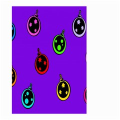Christmas Baubles Small Garden Flag (Two Sides)