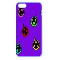 Christmas Baubles Apple Seamless iPhone 5 Case (Color)
