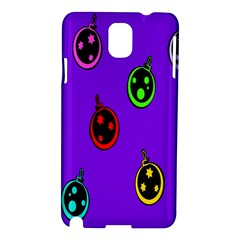 Christmas Baubles Samsung Galaxy Note 3 N9005 Hardshell Case