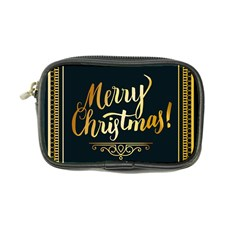 Christmas Gold Black Frame Noble Coin Purse