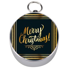 Christmas Gold Black Frame Noble Silver Compasses