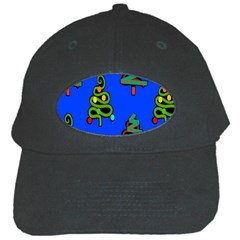 Christmas Trees Black Cap