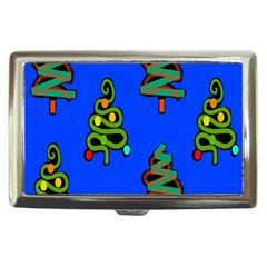Christmas Trees Cigarette Money Cases