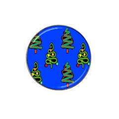 Christmas Trees Hat Clip Ball Marker