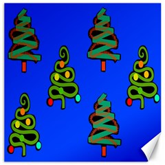 Christmas Trees Canvas 16  x 16