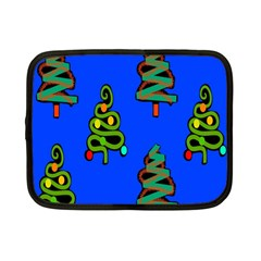 Christmas Trees Netbook Case (Small)