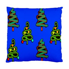 Christmas Trees Standard Cushion Case (one Side)