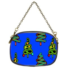 Christmas Trees Chain Purses (Two Sides)