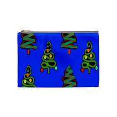 Christmas Trees Cosmetic Bag (Medium)