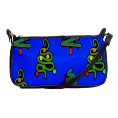Christmas Trees Shoulder Clutch Bags