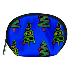 Christmas Trees Accessory Pouches (Medium)