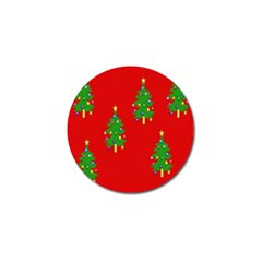 Christmas Trees Golf Ball Marker (10 pack)