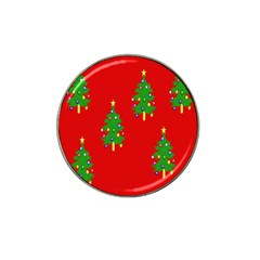 Christmas Trees Hat Clip Ball Marker (4 pack)