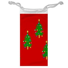Christmas Trees Jewelry Bag