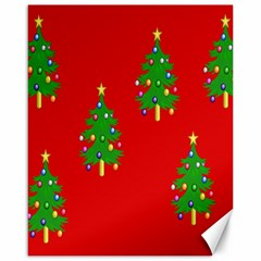 Christmas Trees Canvas 16  x 20