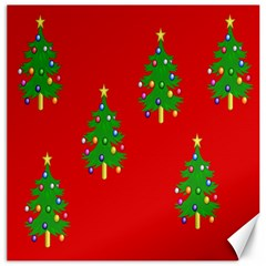 Christmas Trees Canvas 20  x 20