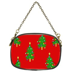 Christmas Trees Chain Purses (One Side)