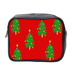 Christmas Trees Mini Toiletries Bag 2-Side