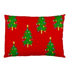 Christmas Trees Pillow Case (Two Sides)
