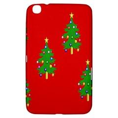 Christmas Trees Samsung Galaxy Tab 3 (8 ) T3100 Hardshell Case