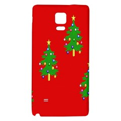 Christmas Trees Galaxy Note 4 Back Case