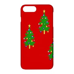 Christmas Trees Apple Iphone 7 Plus Hardshell Case
