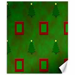 Christmas Trees And Boxes Background Canvas 20  x 24