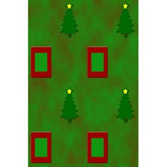 Christmas Trees And Boxes Background 5.5  x 8.5  Notebooks