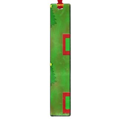 Christmas Trees And Boxes Background Large Book Marks