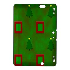 Christmas Trees And Boxes Background Kindle Fire HDX 8.9  Hardshell Case