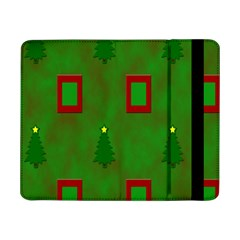Christmas Trees And Boxes Background Samsung Galaxy Tab Pro 8.4  Flip Case