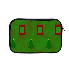 Christmas Trees And Boxes Background Apple Macbook Pro 13  Zipper Case